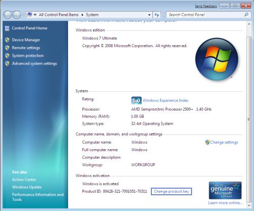 Spam Blocked. Berbagai Jenis Product Key Windows.